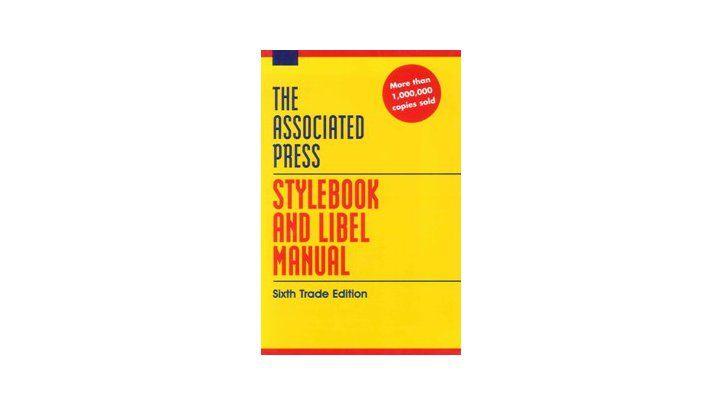 Stylebook and Libel Manual
