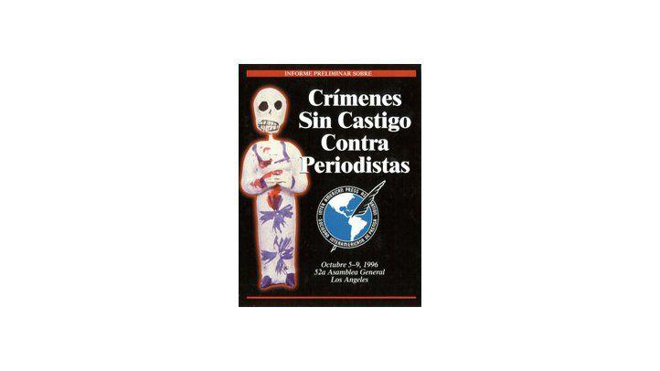 Crímenes Sin Castigo Contra Periodistas