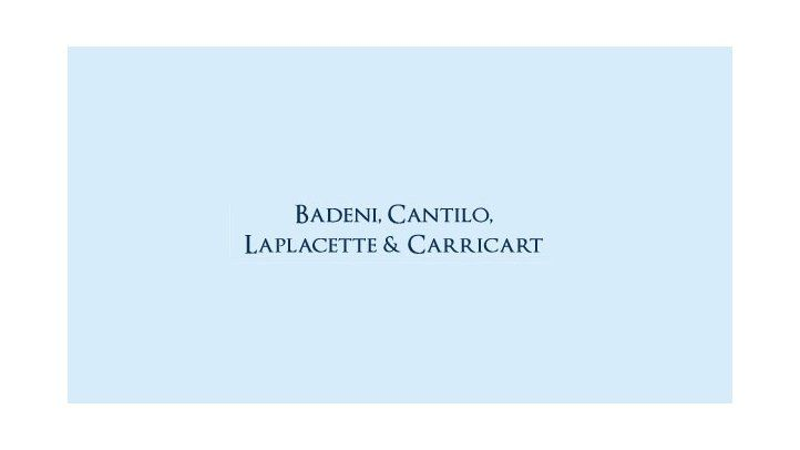 Badeni & Laplacette