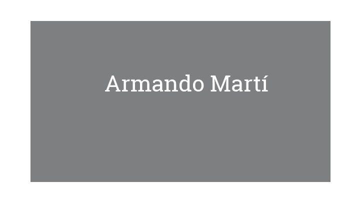 Armando Martí