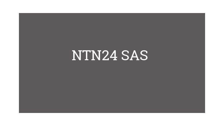 NTN24 SAS