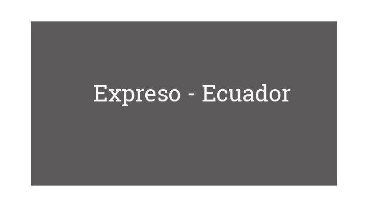 Expreso - Ecuador