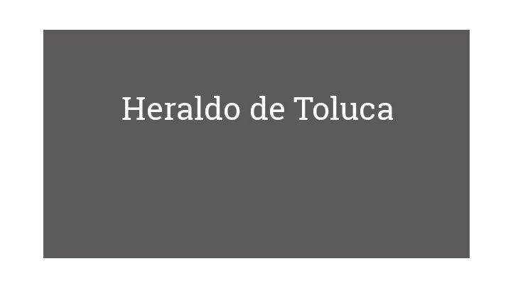 Heraldo de Toluca