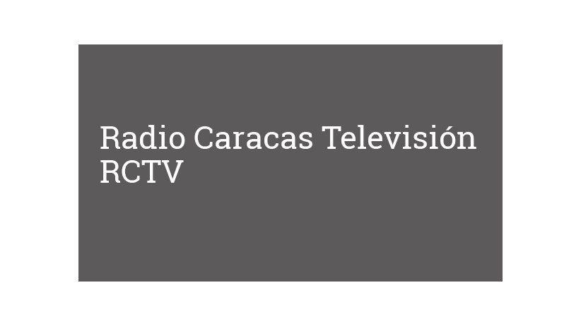 Radio Caracas Televisión RCTV