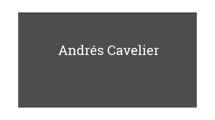 Andrés Cavelier