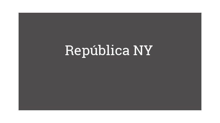 República NY