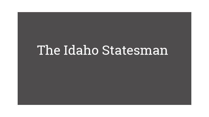 The Idaho Statesman