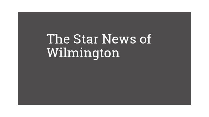 The Star News of Wilmington