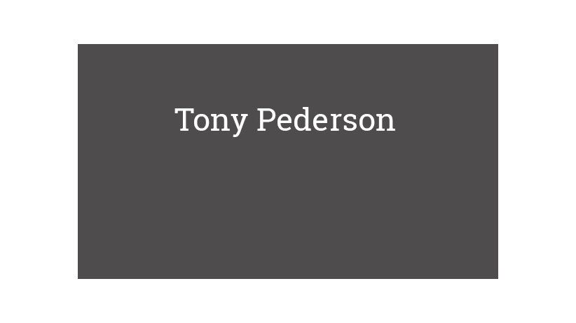 Tony Pederson