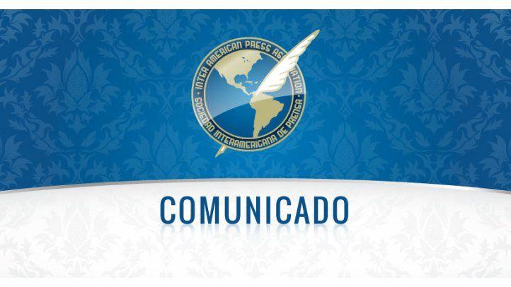 Ratifica la SIP compromiso contra la impunidad