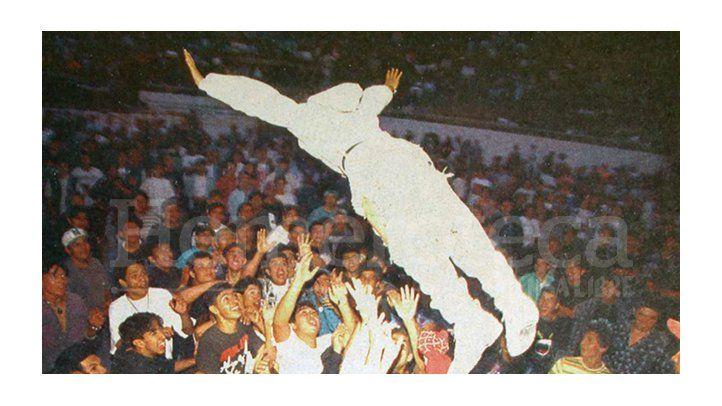 Concierto en 1994 dio pauta a la libre expresión
