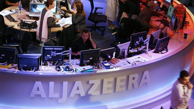 Al Jazeera retrocede  por baja del petróleo
