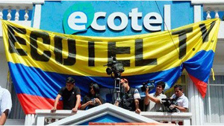 Abuso de gobierno contra canal ecuatoriano