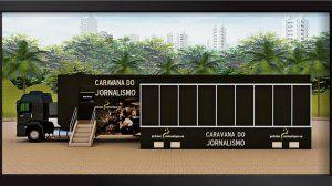 Museo de periodismo sobre ruedas en Brasil