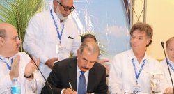 Presidente dominicano inauguró reunión