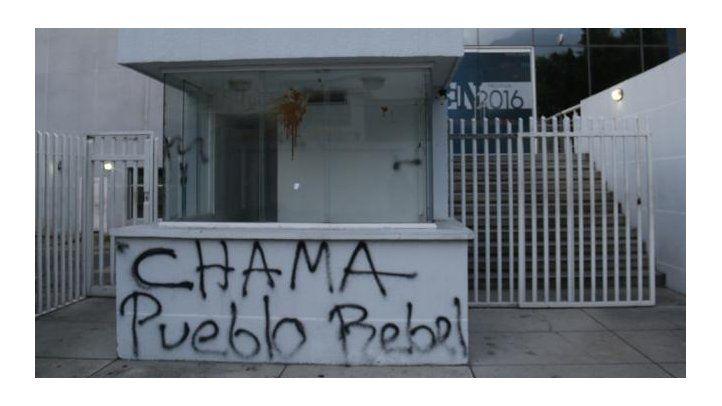 Condena por ataque contra El Nacional
