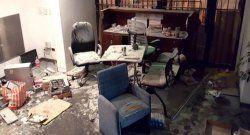 Destrozan sede de Tiempo Argentino y Radio América