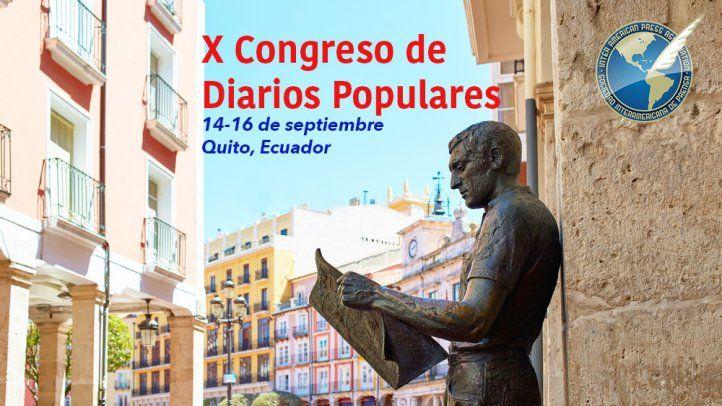 X Congreso de Diarios Populares en Quito