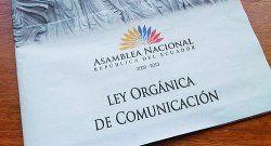 Manipulación de la Ley de Comunicación de Ecuador
