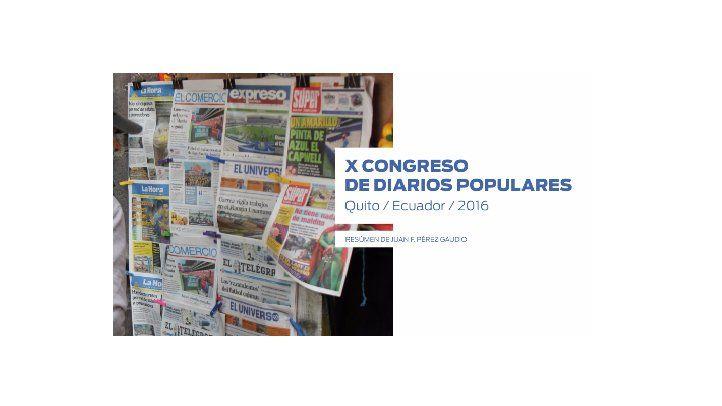 Resumen: X Congreso de Diarios Populares