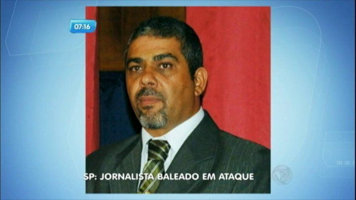 Atentado contra periodista brasileño amenazado