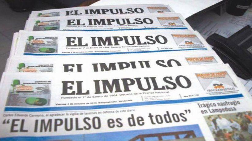 Venezuela: El diario de El Impulso dejará de circular