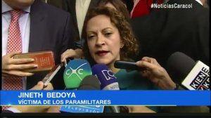 Solidaridad con la periodista Jineth Bedoya