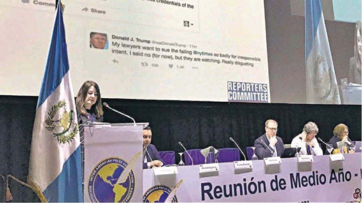 Informe de EE.UU. fue el más extenso en reunión de la SIP
