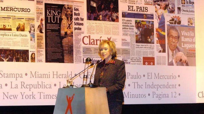 Fallece Ernestina Herrera de Noble de Grupo Clarín