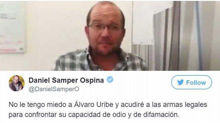 Medios colombianos solidarios con Daniel Samper Ospina