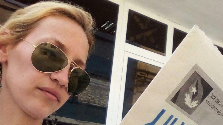 Solidaridad con periodista cubana en prisión domiciliaria