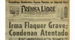 Mártires del periodismo guatemalteco