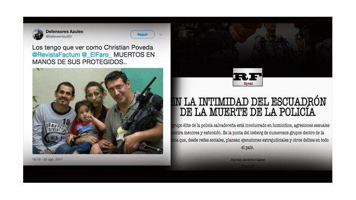 Amenazas contra periodistas de medios digitales de El Salvador