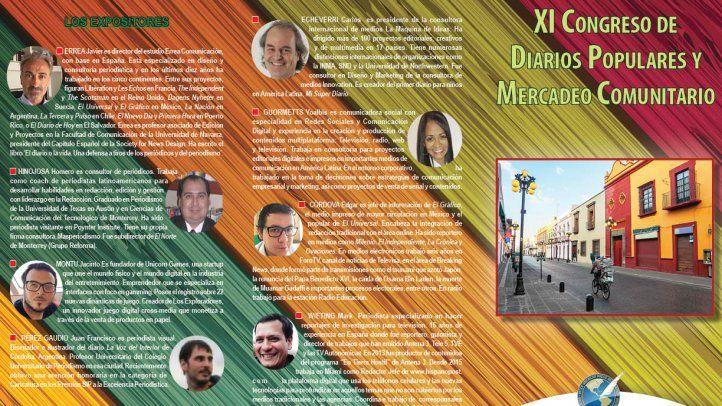 Programa del XI Congreso de Diarios Populares