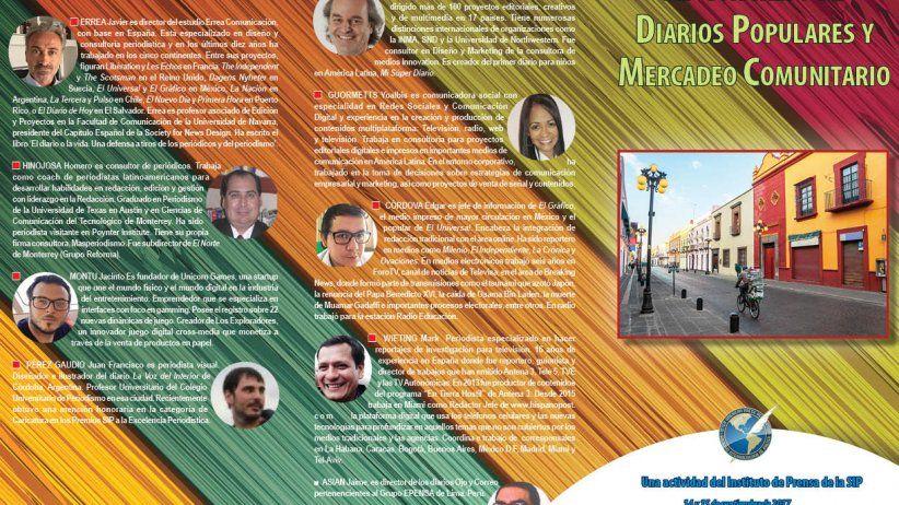 Presentan programa del XI Congreso de Diarios Populares