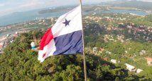 Panamá con bandera