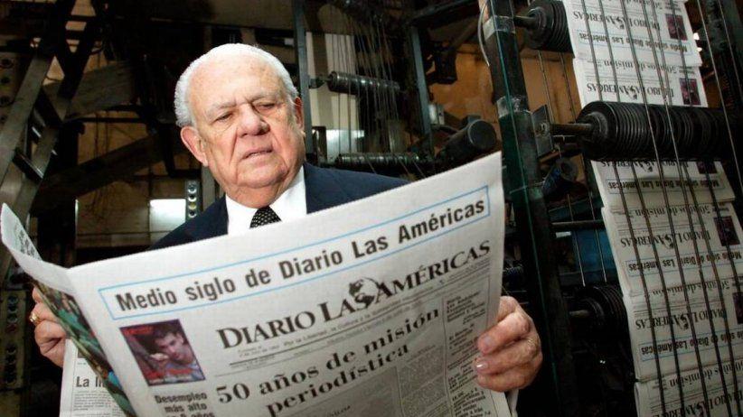 El periodismo hemisférico pierde a una gran figura: el doctor Horacio Aguirre