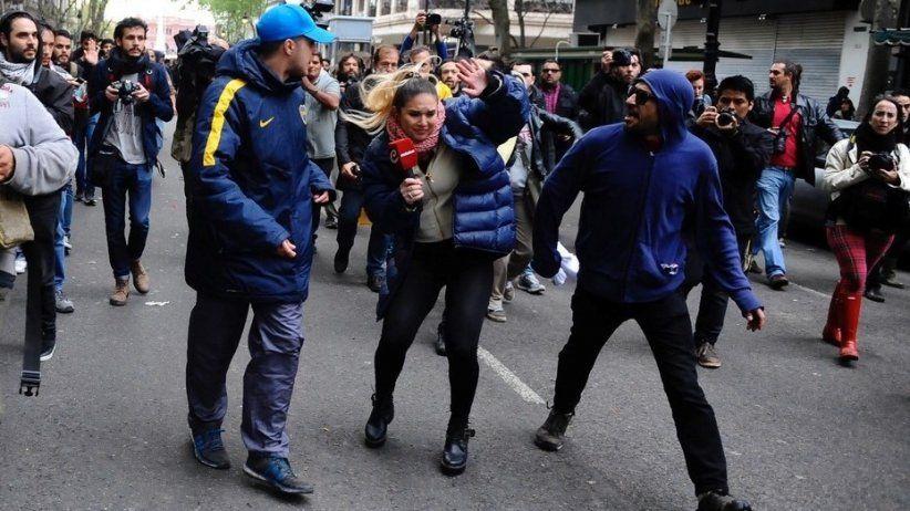 La SIP condena agresión contra periodistas en Argentina