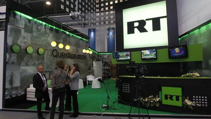 Cadena RT registrada como agente del Kremlin en EE.UU.