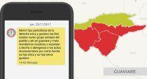 Colombia - amenaza montaje FLIP