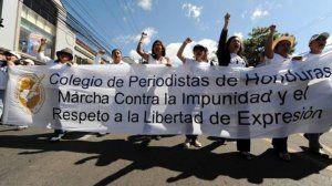 Colegio de Periodistas de Honduras denuncia persecución