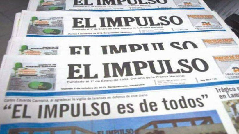 Venezuela: El Impulso dejó de circular tras 114 años de existencia
