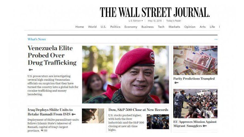 Venezuela: Diosdado Cabello perdió su disputa con The Wall Street Journal en EE.UU.