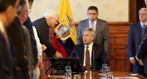 Ecuador - Mohme saluda a Moreno