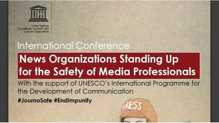 UNESCO: Concrete measures to better journalists safety
