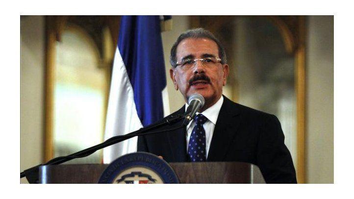 President Danilo Medina in IAPA opening ceremony in Punta Cana