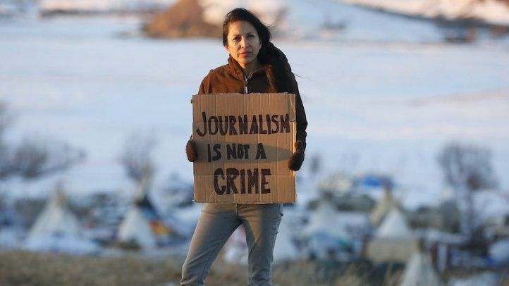 Journalists covering Standing Rock face charges as police arrest protesters