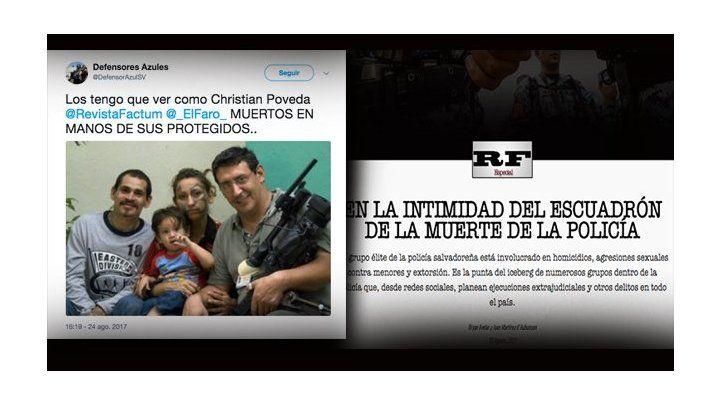Concern at threats against El Salvador digital media journalists