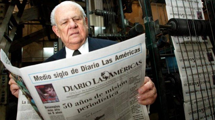 Horacio Aguirre, founder of Diario las Américas, dies at 92