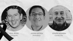 Reaction of the IAPA before the murder of the three Ecuadorian colleagues